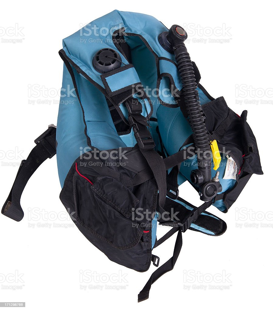 Buoyancy compensator stock photo