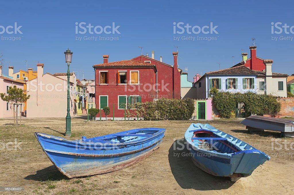 Burano - Venice royalty-free stock photo
