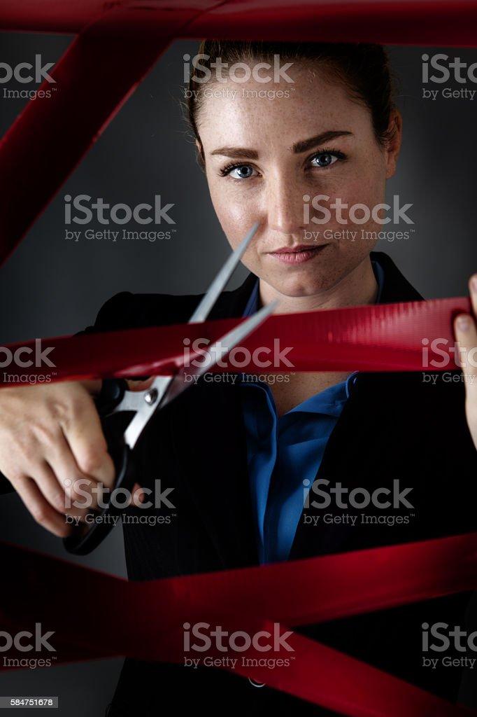 bureaucracy of the work place stock photo