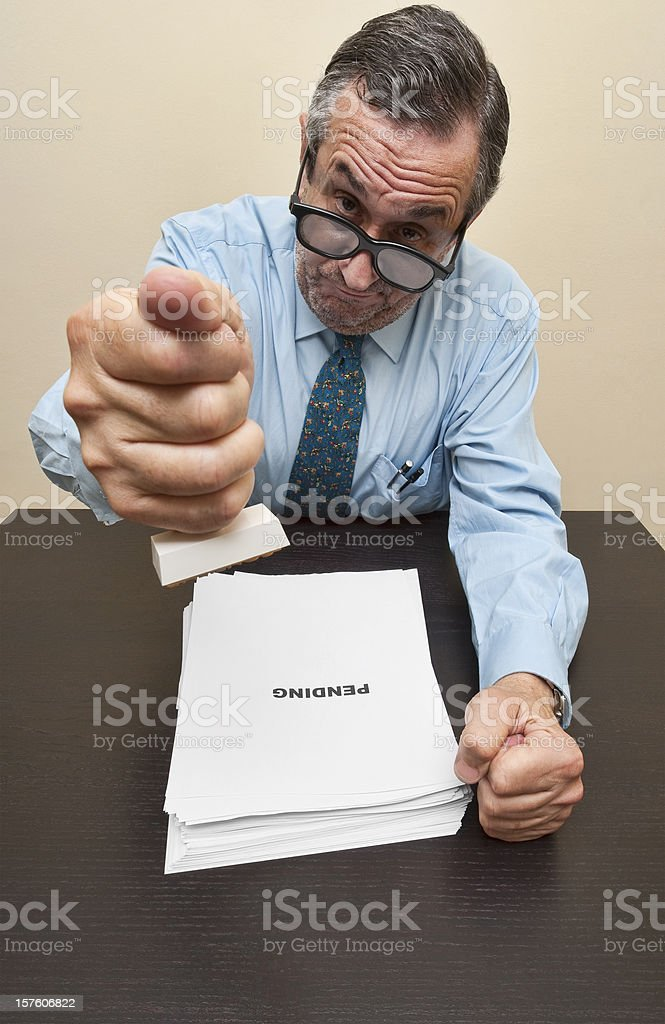 Bureaucracy stock photo
