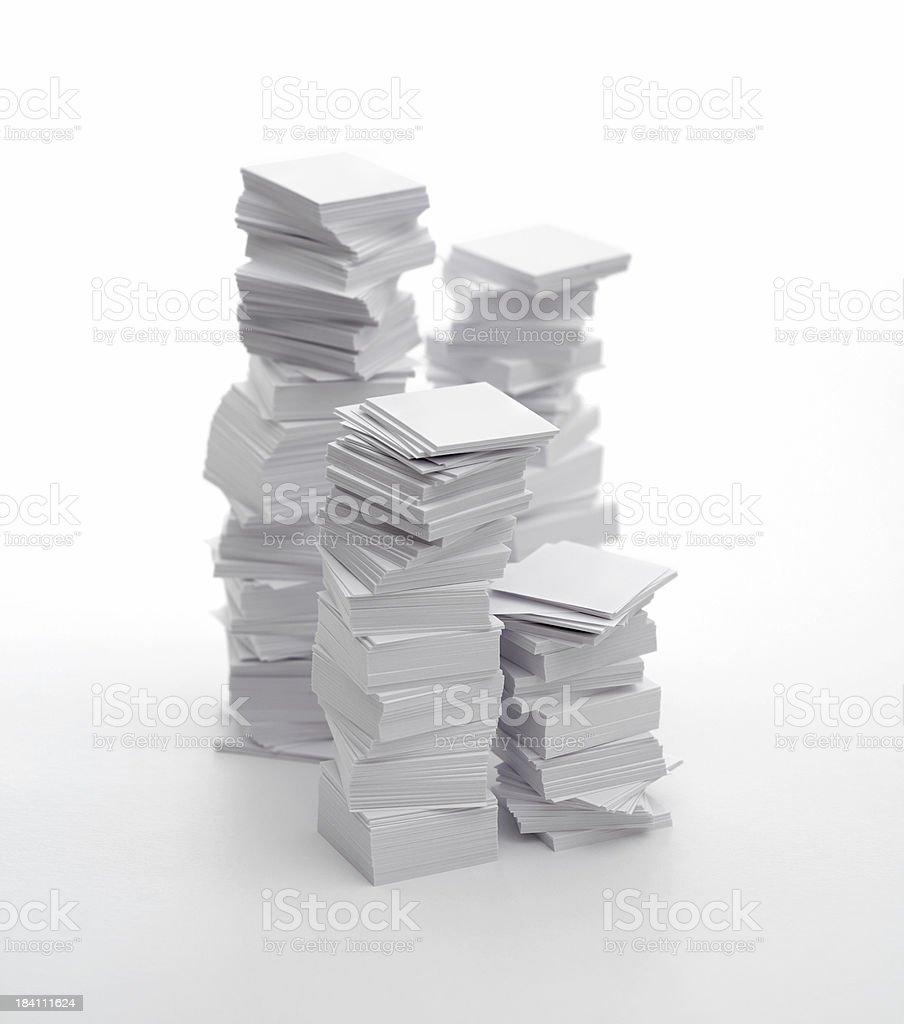 Bureaucracy (pile of paper) royalty-free stock photo