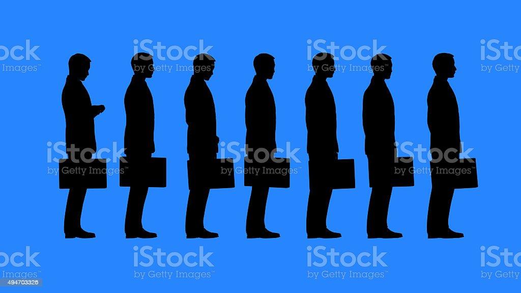 Bureaucracy stock photo