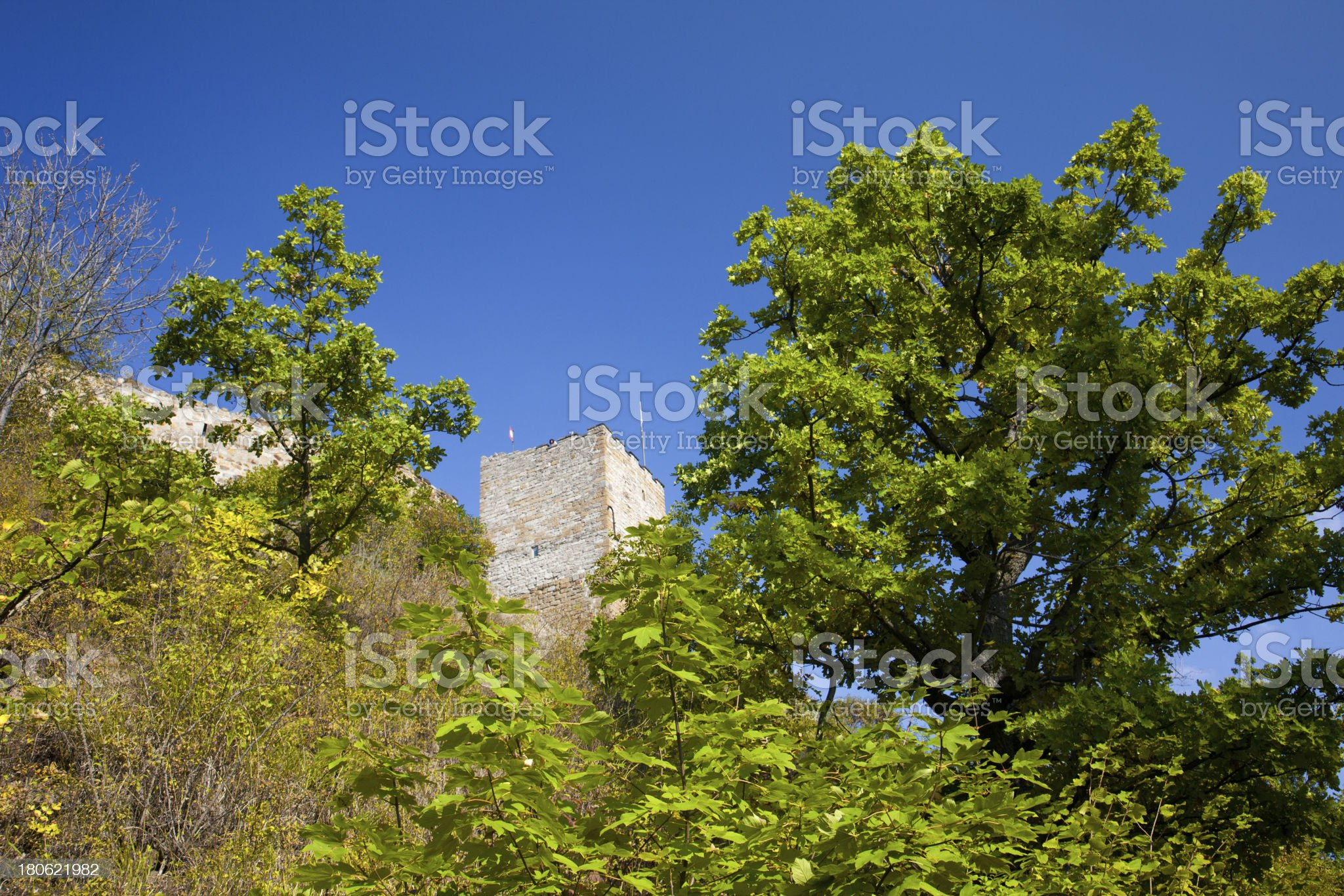 Burg Gleichen royalty-free stock photo