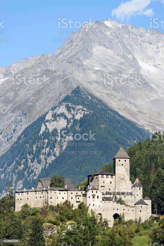 Burg Taufers, Castle, Schwarzenstein stock photo