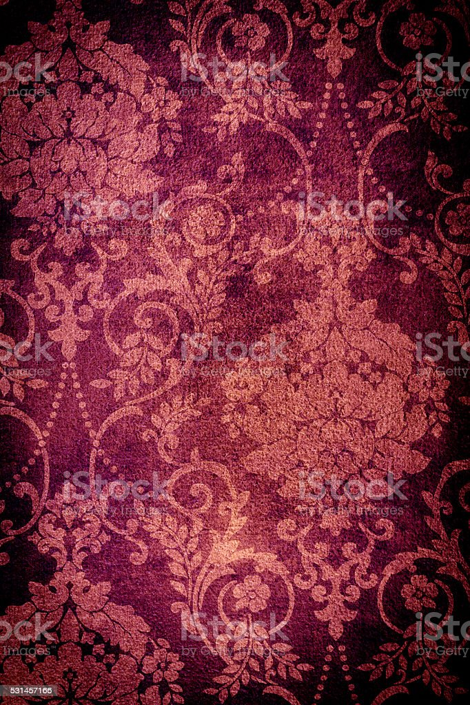 Burgandy Vintage Background stock photo