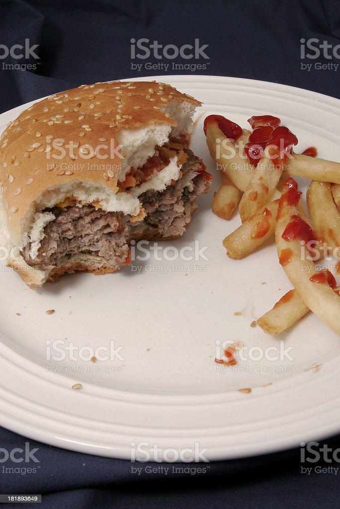 Burger 13 royalty-free stock photo