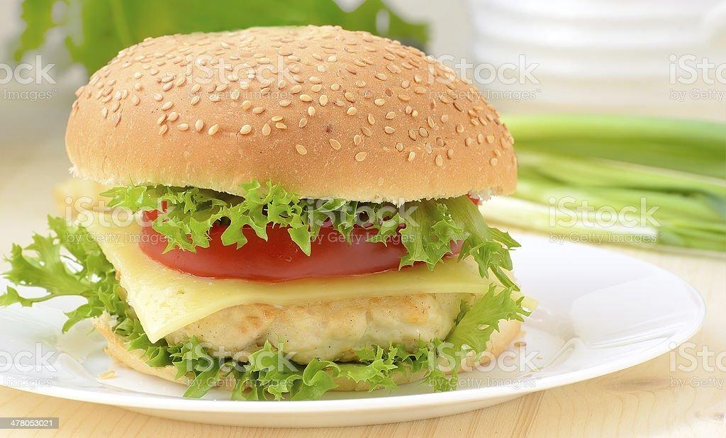 Burger fast food royalty-free stock photo