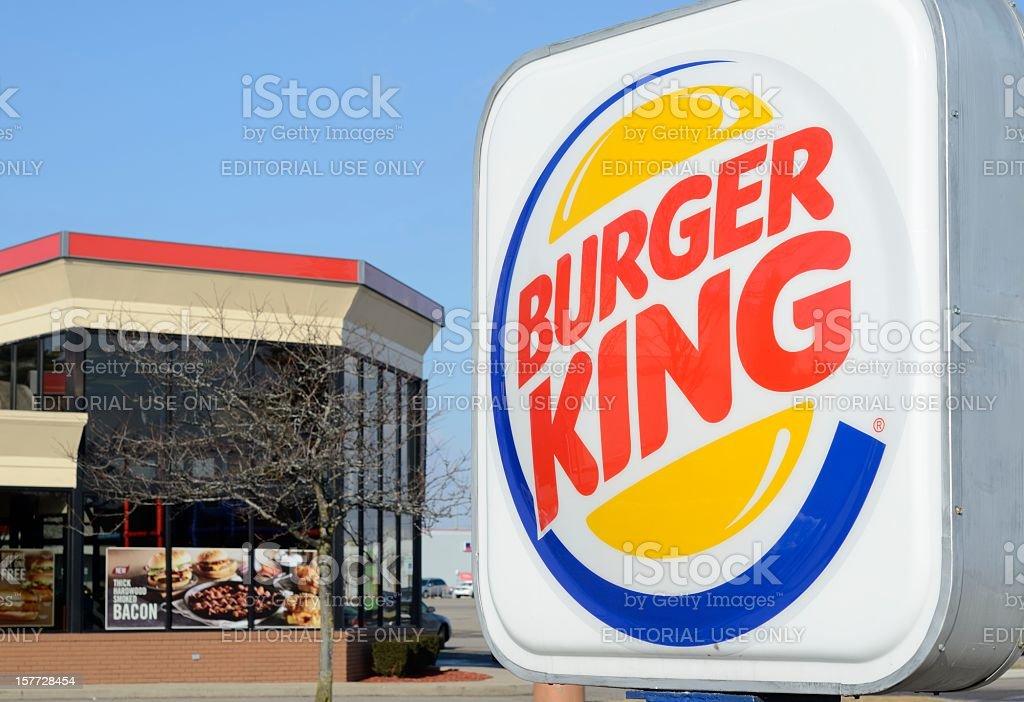 Burger King stock photo