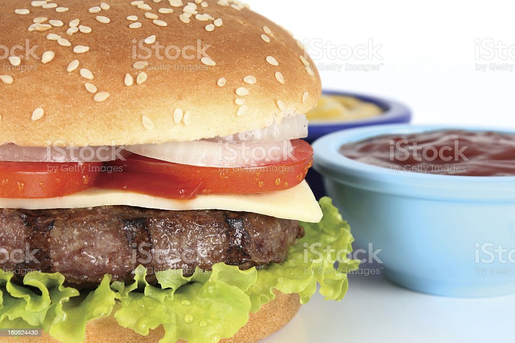 burger royalty-free stock photo
