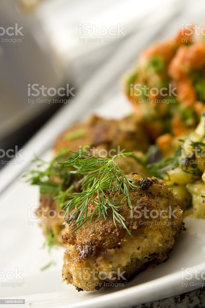 Burgers for dinner royalty-free stock photo