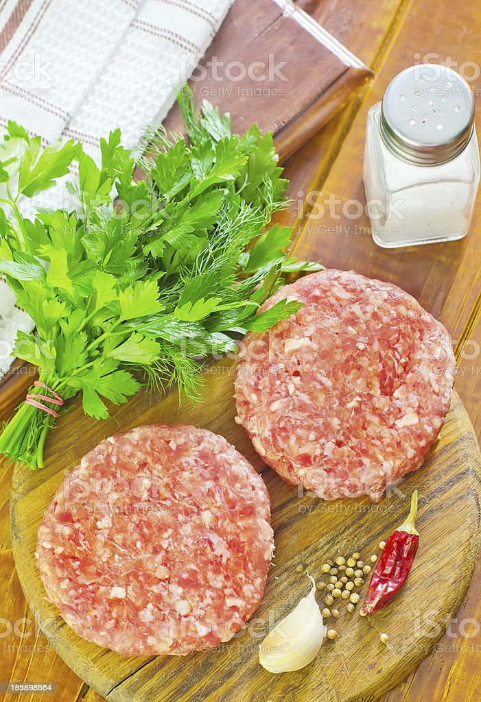 burgers royalty-free stock photo
