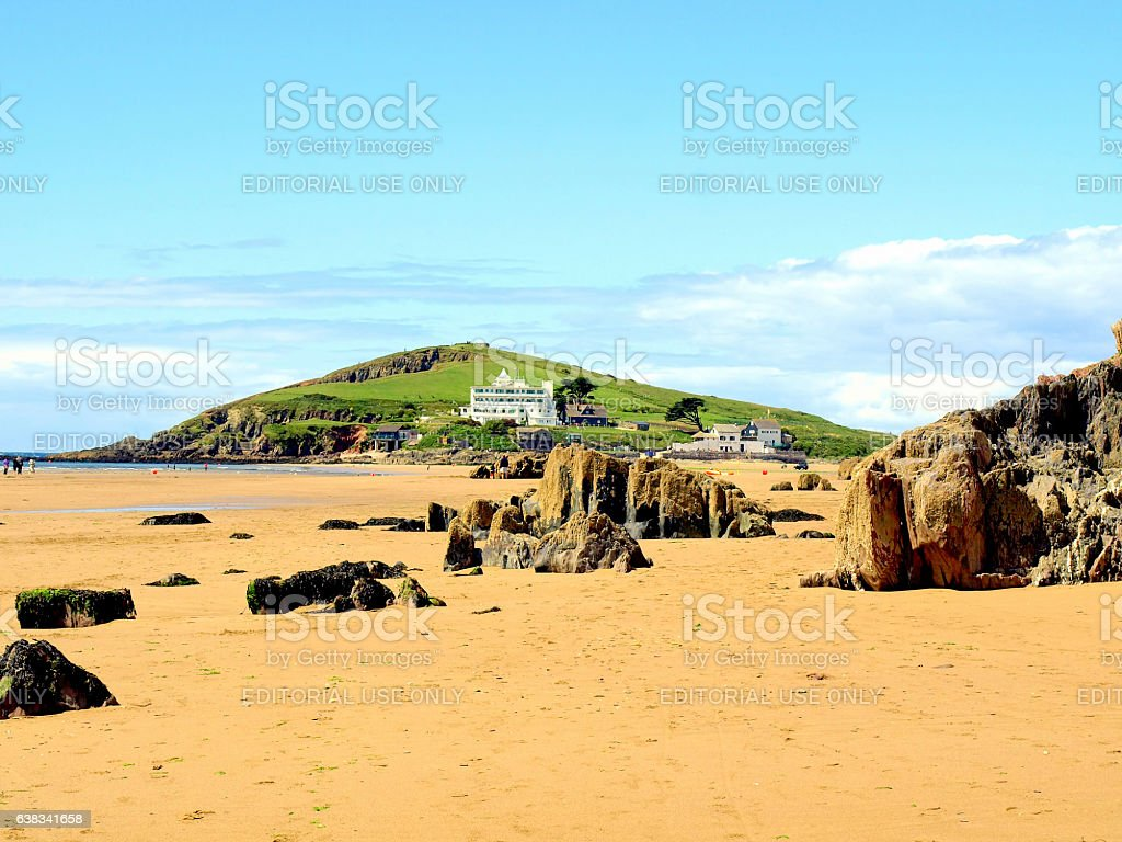 Burgh Island, Devon. stock photo