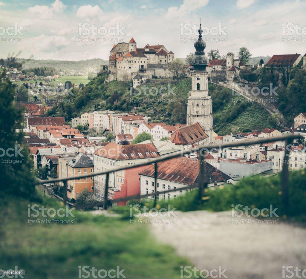 Burghausen Bavaria stock photo
