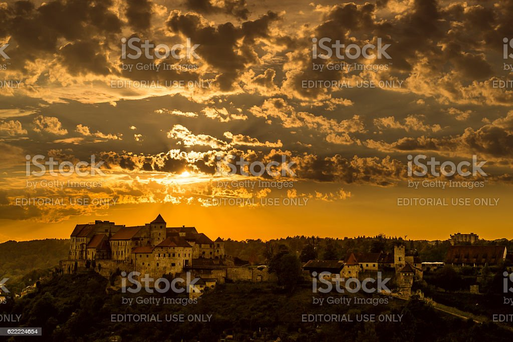Burghausen Germany Bavaria stock photo