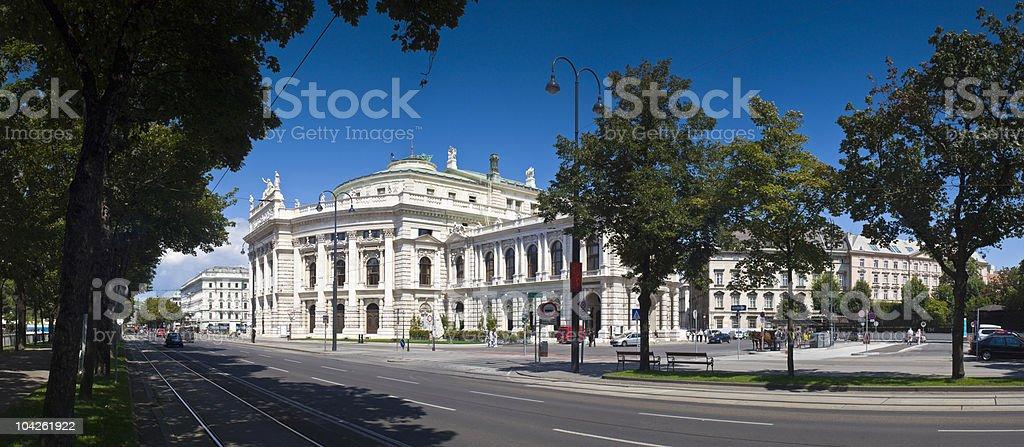Burghtheater Vienna stock photo