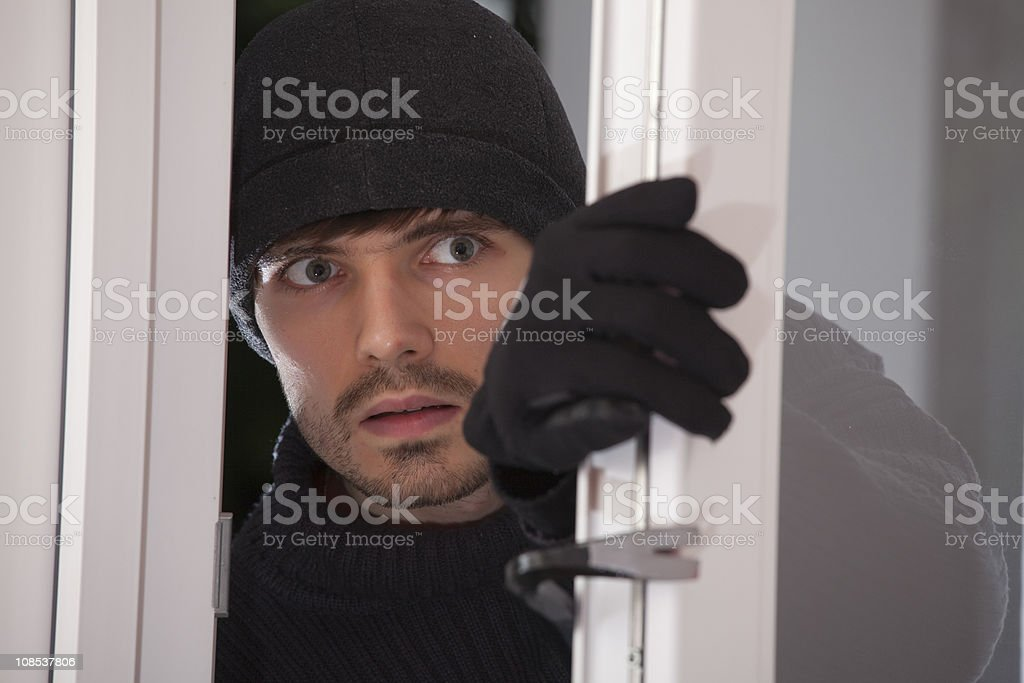 burglar royalty-free stock photo