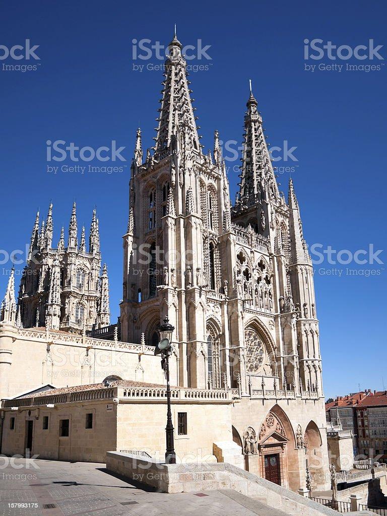 Burgos Cathedral stock photo