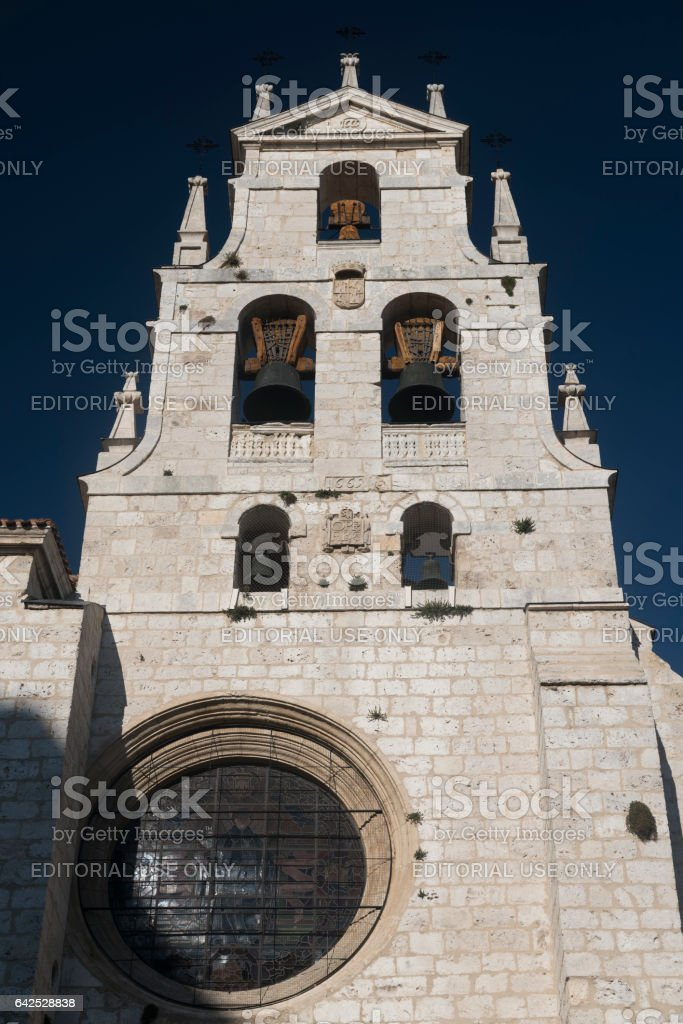 Burgos (Spain): cathedral stock photo