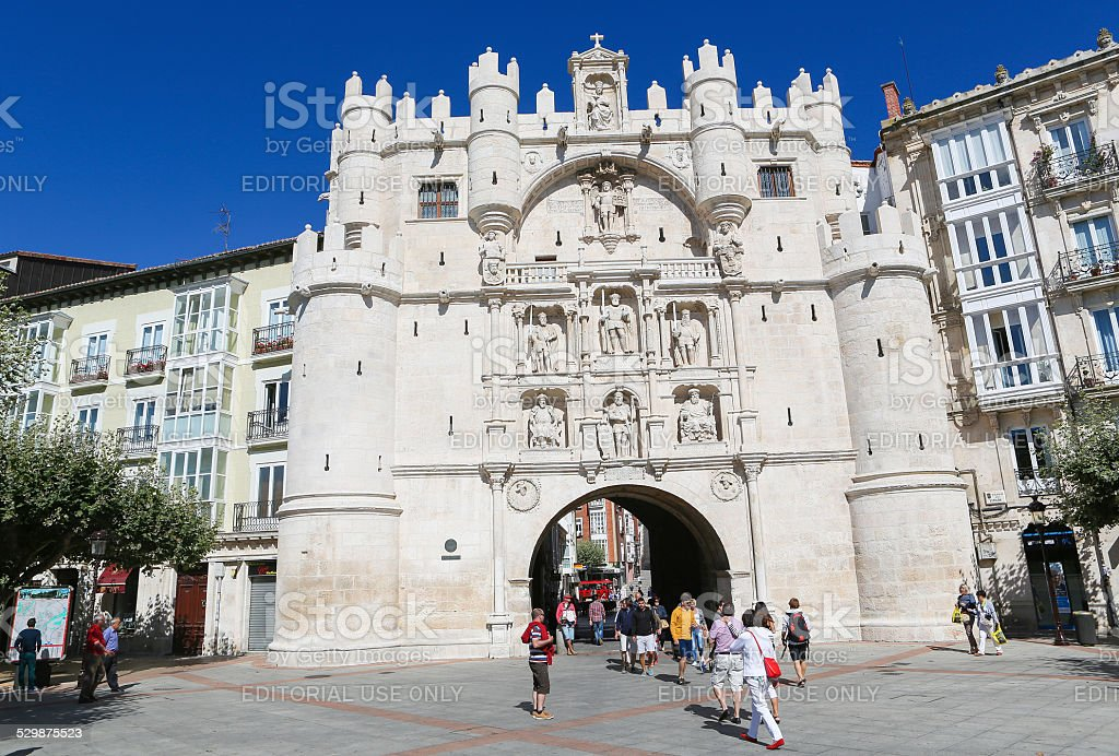 Burgos stock photo