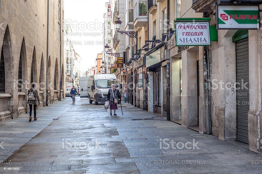 Burgos. Spain stock photo