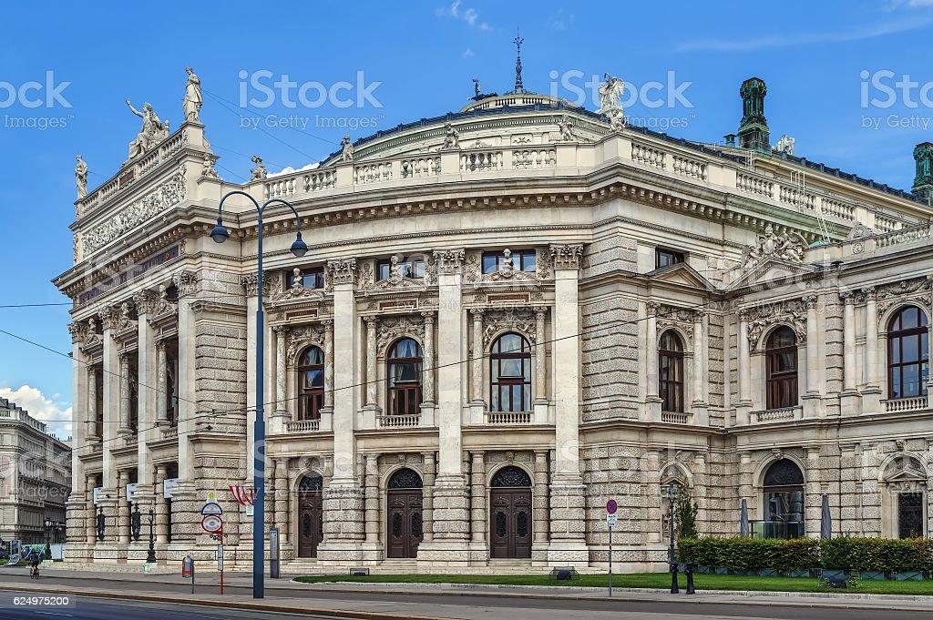 Burgtheater in Vienna, Austria stock photo