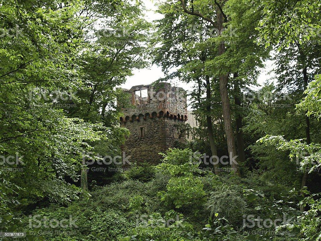 Burgturm stock photo