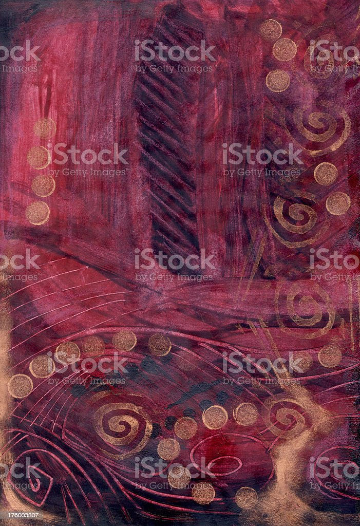 Burgundy and Copper Background royalty-free stock photo