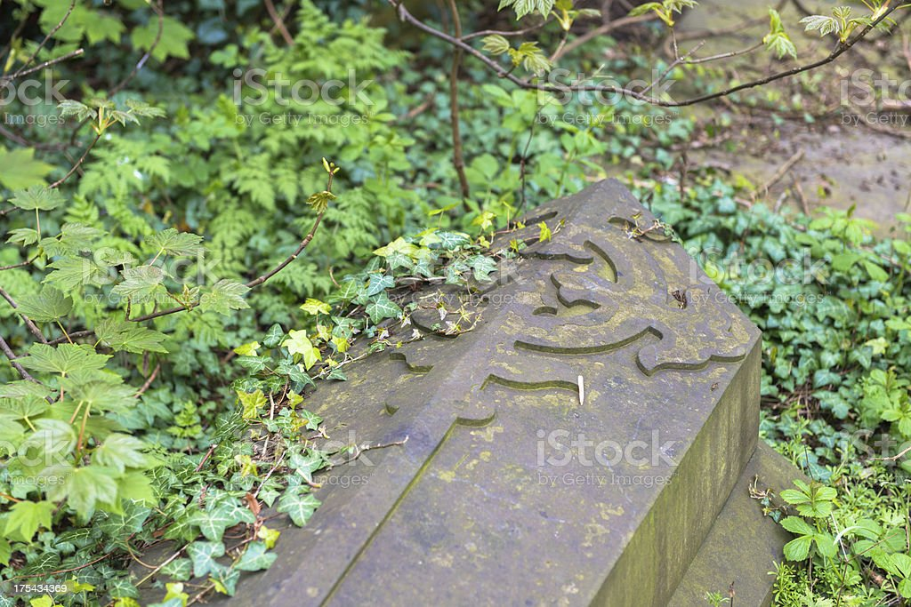 Burial royalty-free stock photo