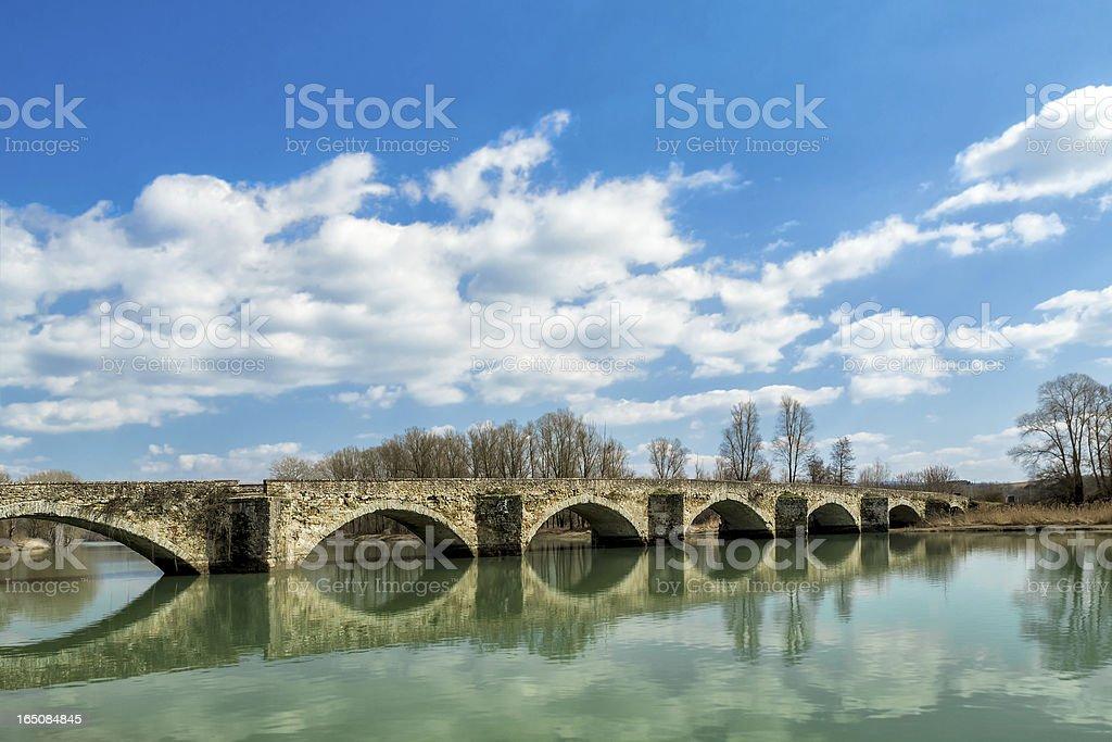 Buriano's bridge royalty-free stock photo