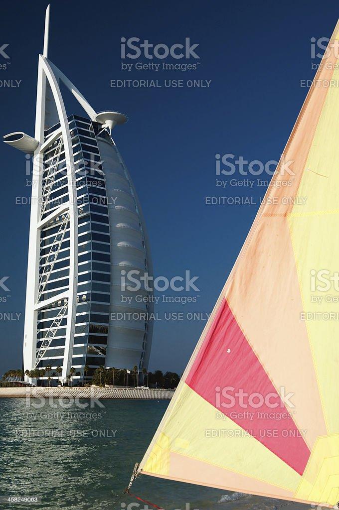 Burj al arab, Dubai royalty-free stock photo