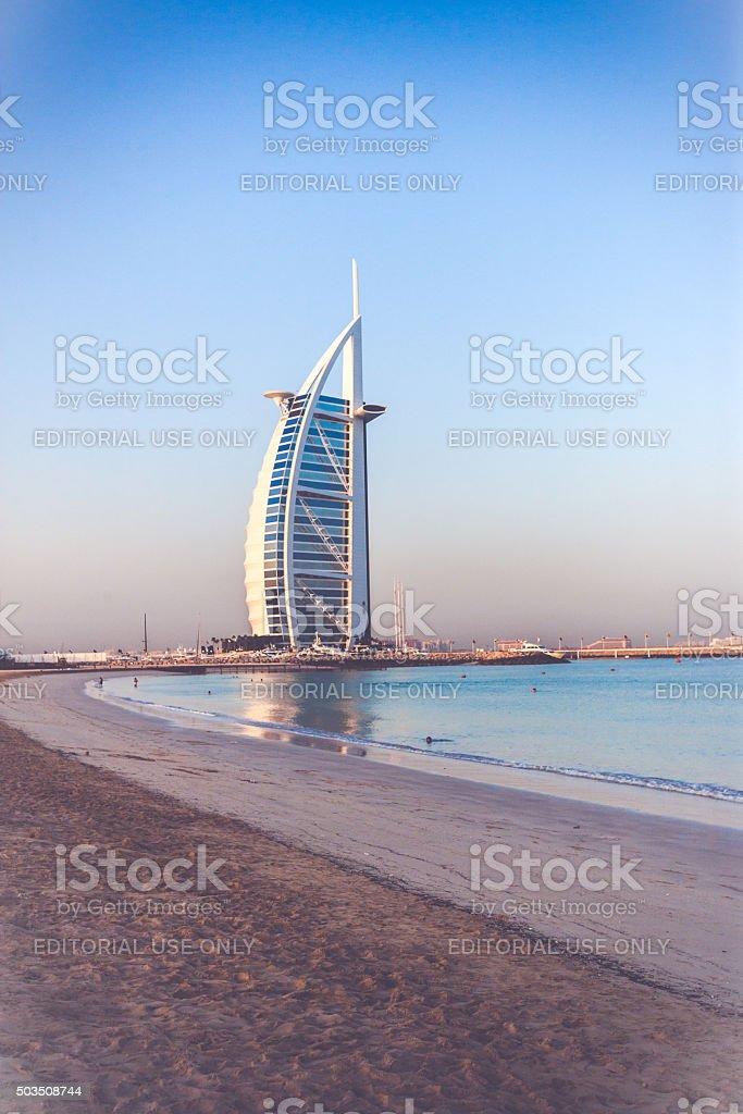 Burj Al Arab, Dubai, United Arab Emirates stock photo