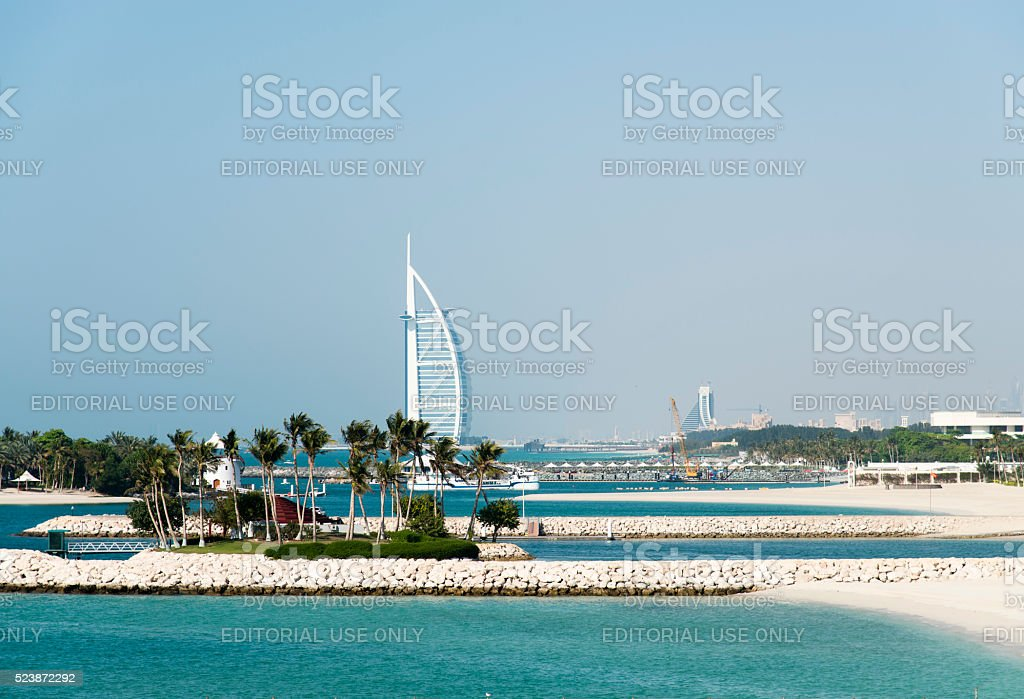 Burj Al Arab Hotel, Dubai, UAE stock photo