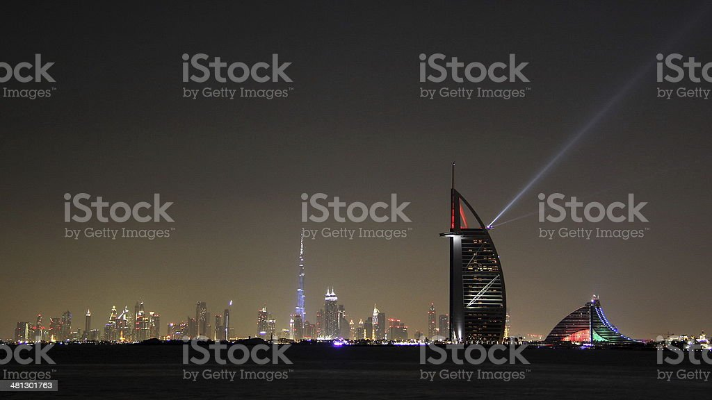 Burj Al Arab in Dubai stock photo
