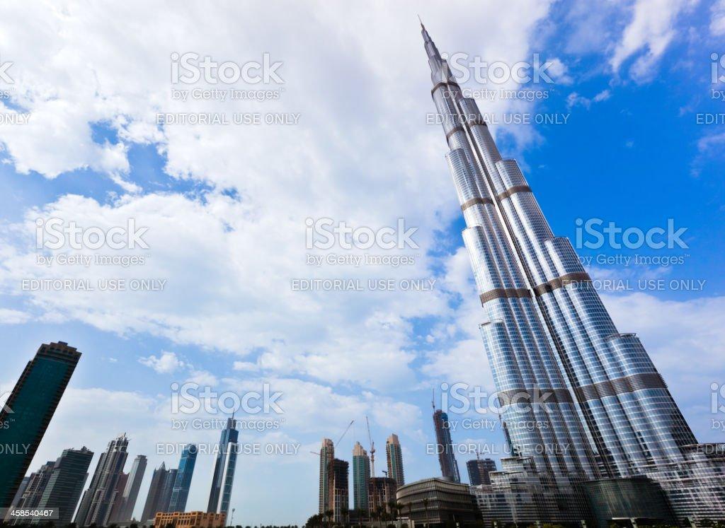Burj Khalifa, Dubai, Skyscrapers royalty-free stock photo
