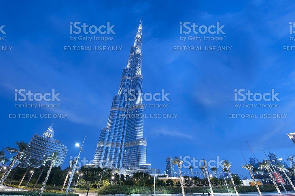 Burj Khalifa, Dubai, UAE royalty-free stock photo