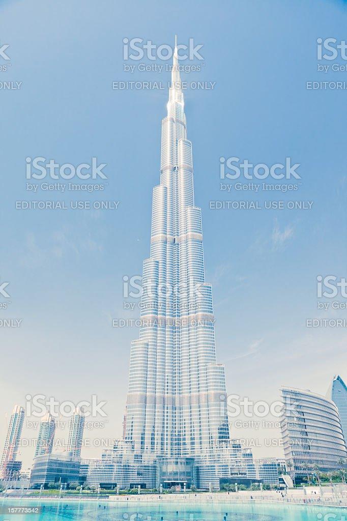 Burj Khalifa, highest building in the world royalty-free stock photo