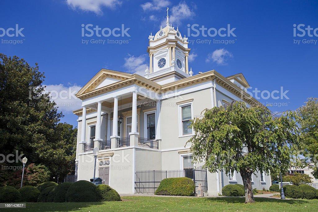 Burke County Courthouse In Morganton, North Carolina stock photo