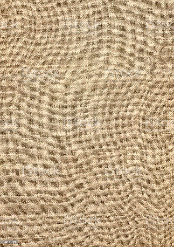 Burlap background stock photo