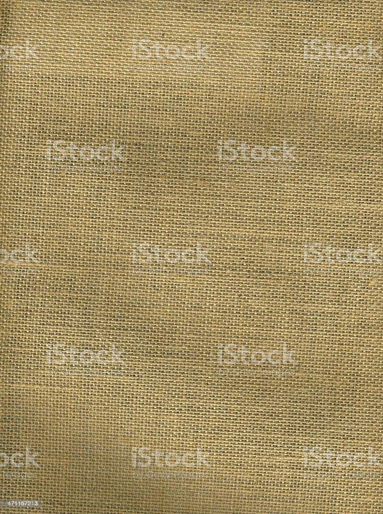 Burlap Cloth Textile Background royalty-free stock photo