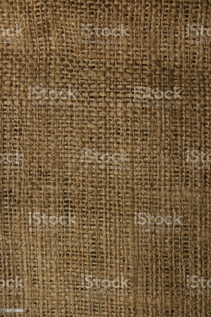 Burlap Coffee Bag royalty-free stock photo