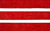 Burlap Fabric Ribbon Texture, Sack Cloth Edge, Red Hessian