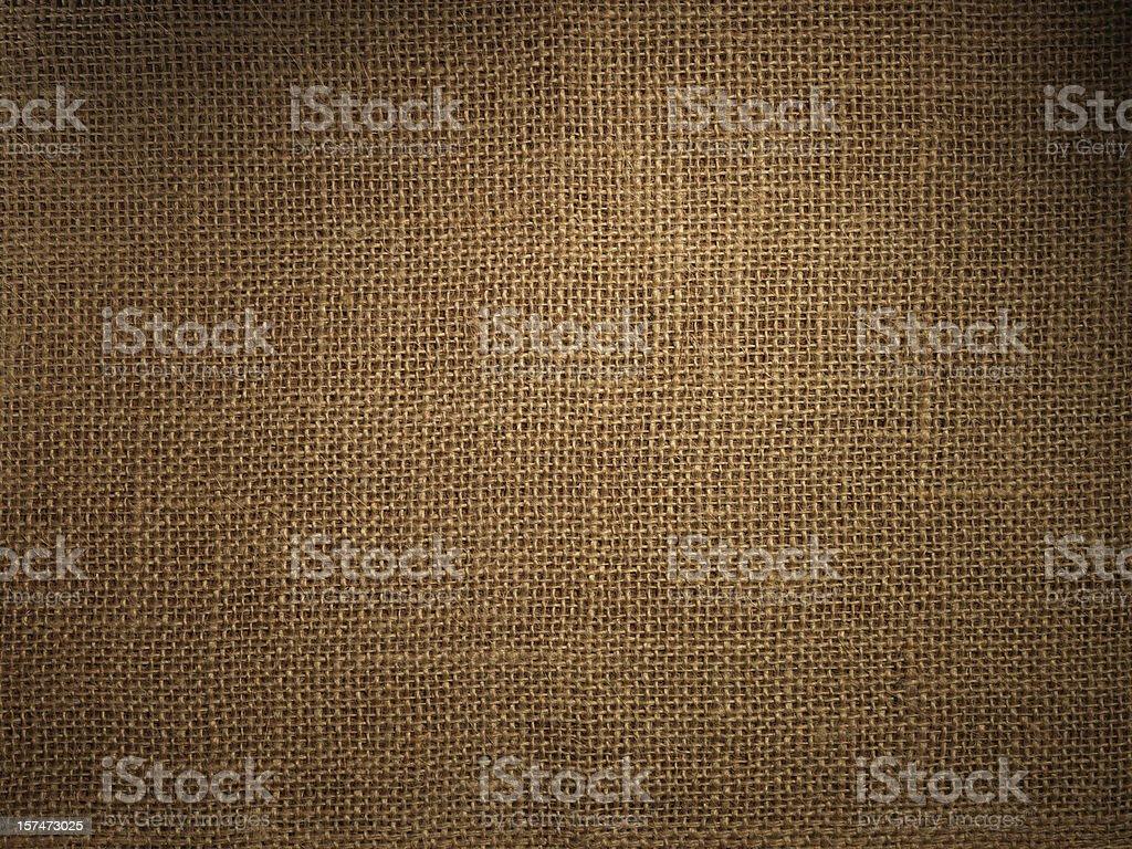 Burlap or sack texture royalty-free stock photo
