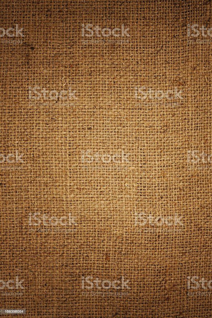 Burlap sack background. stock photo