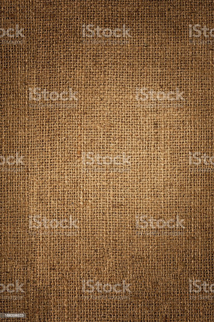 Burlap sack background. stock photo
