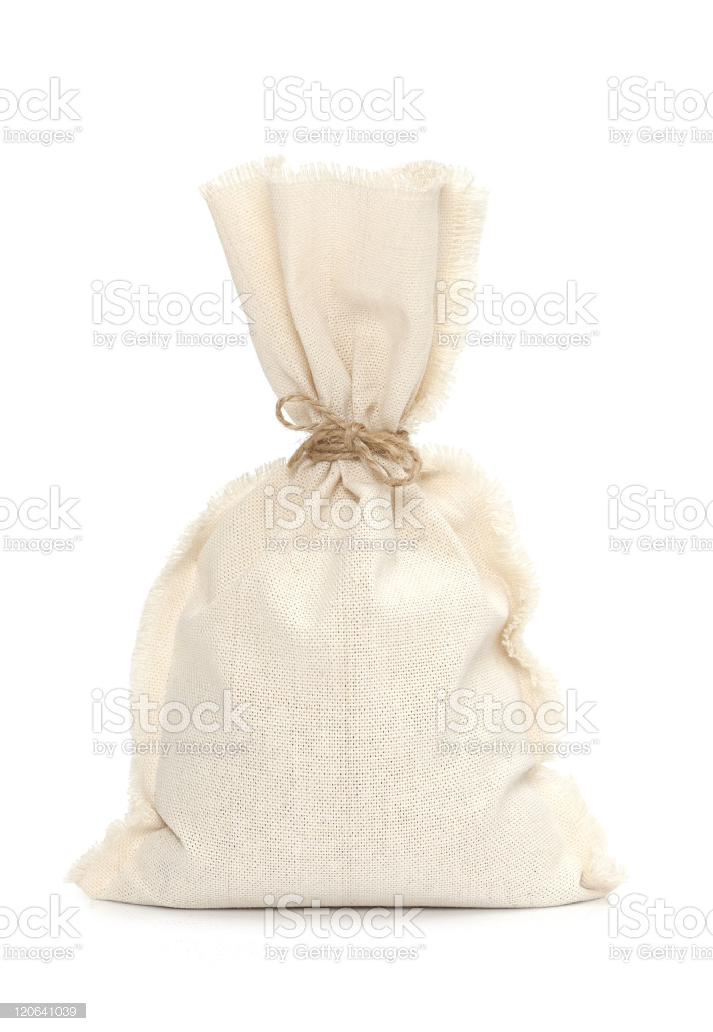 Burlap sack royalty-free stock photo
