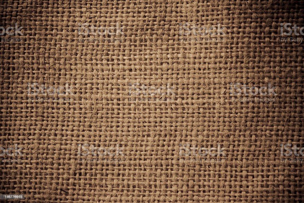 Burlap Sack Texture royalty-free stock photo
