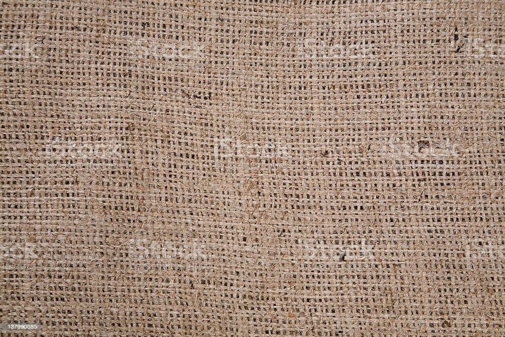 Burlap textile background. royalty-free stock photo