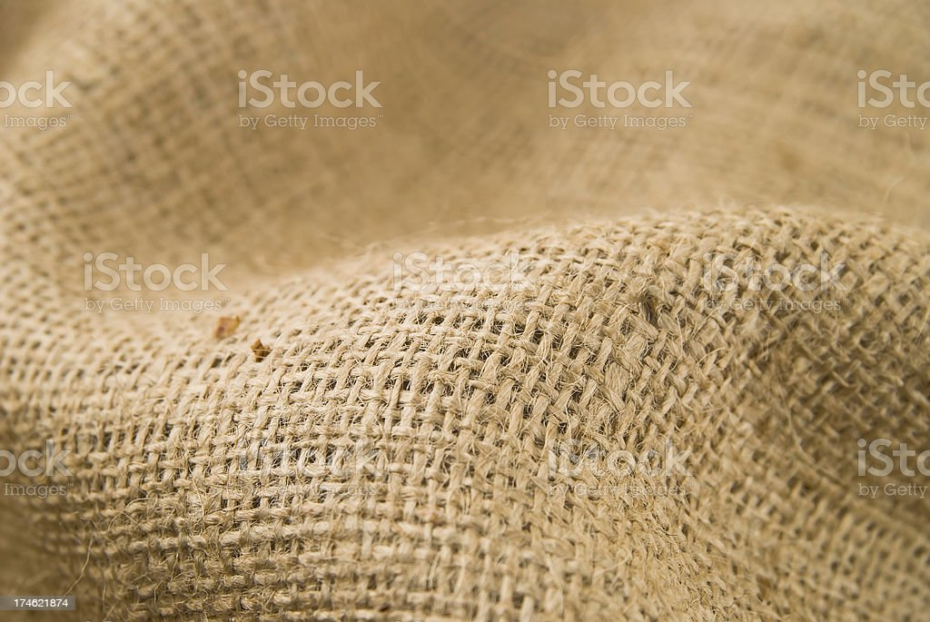 burlap textile royalty-free stock photo