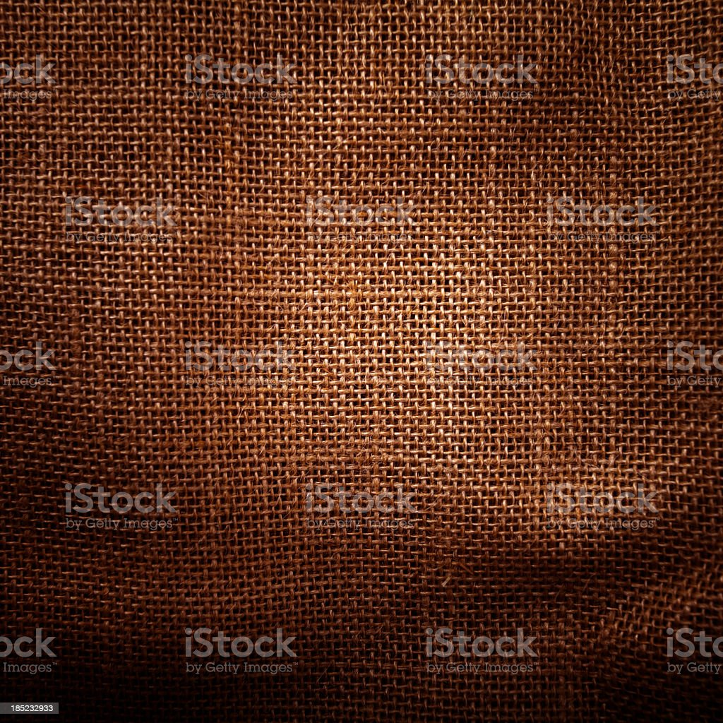 Burlap texture background royalty-free stock photo