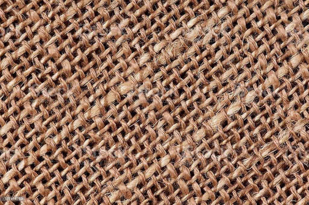 Burlap texture royalty-free stock photo